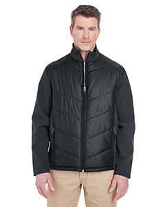 Adult Soft Shell Jacket with Quilted Front & Back
