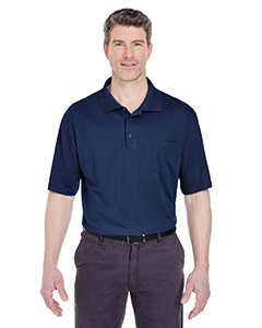 Adult Cool & Dry Sport Polo with Pocket