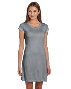 Ladies  3.8 oz. Vintage Jersey T-Shirt Dress