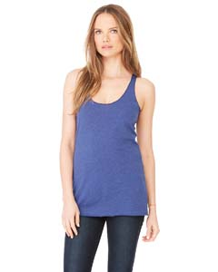 Ladies  3.4 oz. Triblend Racerback Tank