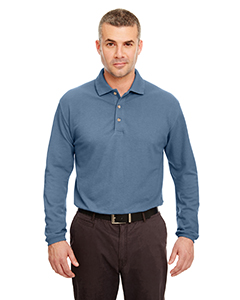 Adult Long-Sleeve Classic Pique Polo