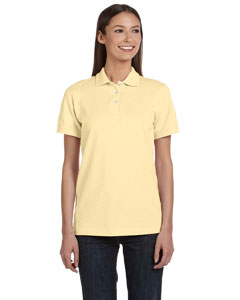 Ladies  Ringspun Pique Polo