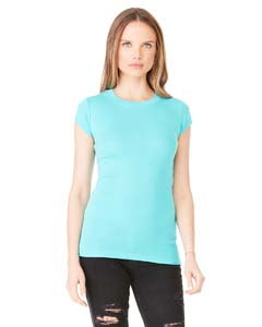 Ladies  4 oz. Sheer Rib T-Shirt