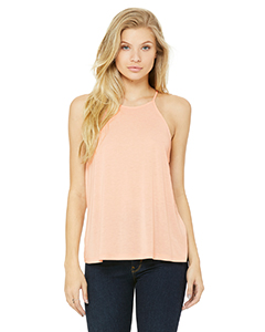 Ladies' Flowy High Neck Tank