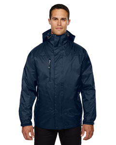 Men's 3-In-1 Techno Performancetm Seam-Sealed Hooded Jacket