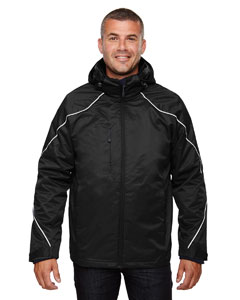 Angle Men's 3-In-1 Jacket With Bonded Fleece Liner
