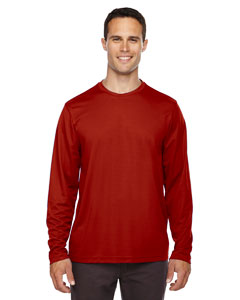Agility  Men's Performance Long Sleeve Pique Crew Necks