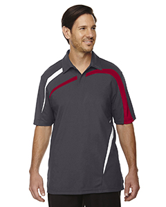Impact Men's Performance Polyester Pique Color-Block Polo