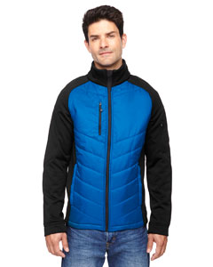 Epic Men's Insulated Hybrid Bonded Fleece Jacket
