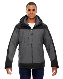 Alta Men's 3-In-1 Seam-Sealed Jacket With Insulated Liner