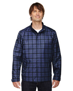 LOCALE MEN'S LIGHTWEIGHT CITY PLAID JACKET