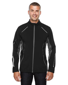 Pursuit Men's 3-Layer Light Bonded Hybrid Soft Shel`Jacket