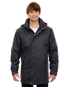 Enroute Men;s Textured Insulated Jacket with Heat Reflect Techno