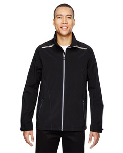 Excursion Men's Soft Shel`Jackets With Laser Stitch Accents