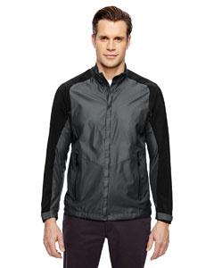 BOROUGH MEN'S LIGHTWEIGHT JACKET WITH LASER PERFORATION