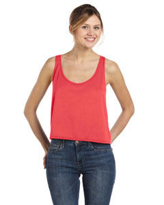 Ladies  3.7 oz. Boxy Tank