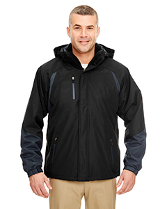 Adult Color Block 3-in-1 Systems Hooded Jacket