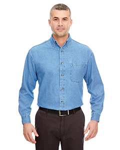 Adult Cypress Denim Shirt with Pocket