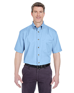 Adult Cypress Denim Short-Sleeve with Pocket