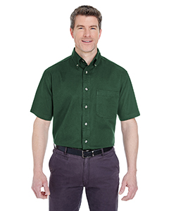 Adult Cypress Twill Short-Sleeve Shirt with Pocket