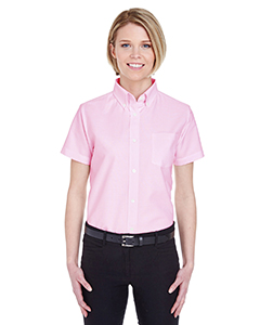 Ladies' Classic Wrinkle-Resistant Short-Sleeve Oxford
