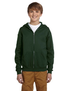 Youth  8 oz. NuBlend® 50/50 FulmZip Hood