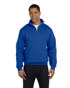 8 oz. NuBlend® 50/50 Quarter-Zip Cadet Collar Sweatshirt