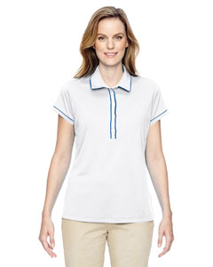 Ladies Piped Fashion Polo