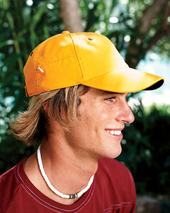 6-Pane`Cap with Zippered Pocket