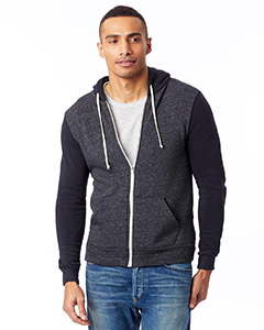 Unisex 6.4 oz. Rocky Color-Blocked FulmZip Hoodie