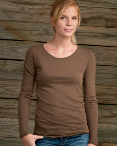 Ladies  3.5 oz. Long-Sleeve Crew