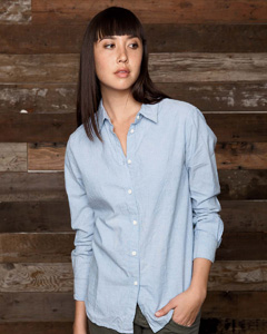 Ladies  3.7 oz. Basic Button-Up