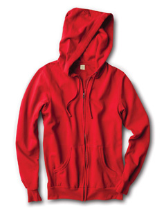 Unisex Fleece Zip-Up Hoodie
