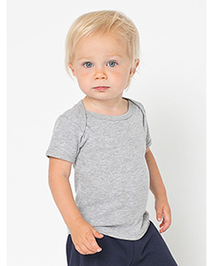 Infant Baby Rib Short-Sleeve Lap T