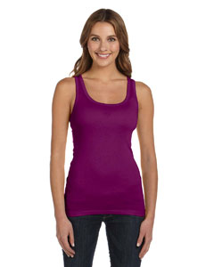 Ladies  4 oz. Sheer Rib Tank