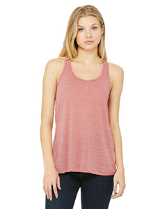 Ladies  3.7 oz. Flowy Racerback Tank