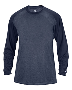 Adult Sport Heather Tonal Long-Sleeve T-Shirt