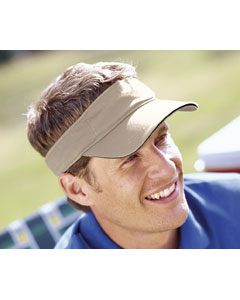 Washed Twil`Sandwich Visor