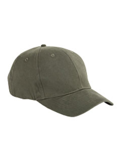6-Pane`Brushed Twil`Structured Cap