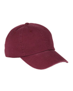 6-Pane`Washed Twil`Low-Profile Cap