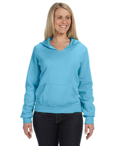 Ladies  10 oz. Garment-Dyed Front-Slit Pullover Hood