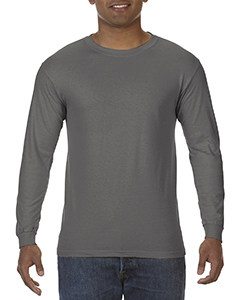 6.1 oz. Ringspun Garment-Dyed Long-Sleeve T-Shirt