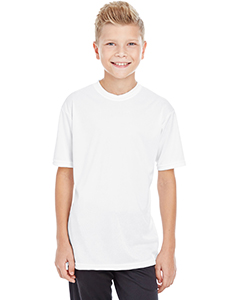 100% Poly Performance Youth S/S tee