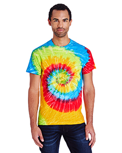 5.4 oz. 100% Cotton Tie-Dyed T-Shirt