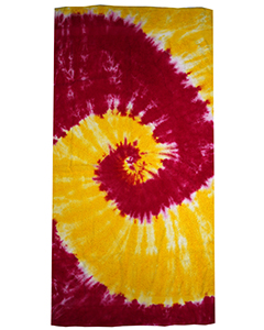 CD TIE DYE BEACH TOWEL