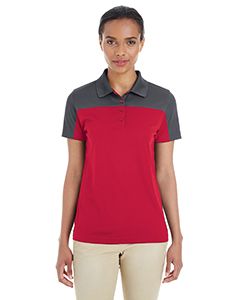 Ladies' Balance Colorblock Performance Pique Polo
