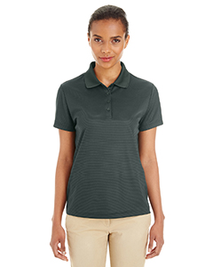 Ladies' Express Microstripe Performance Pique Polo