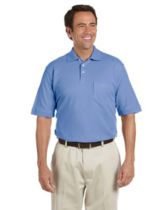 Men's  Performance Plus Pique Polo with Pocket
