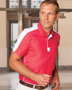 Men's  Piped Technica`Performance Polo