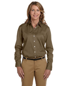 Ladies  32 Singles Long-Sleeve Twill